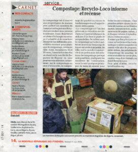 2016 03 11 _ La Nouvelle République des Pyrénées