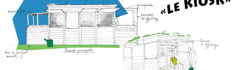 Présentation KIOSK de compostage carré